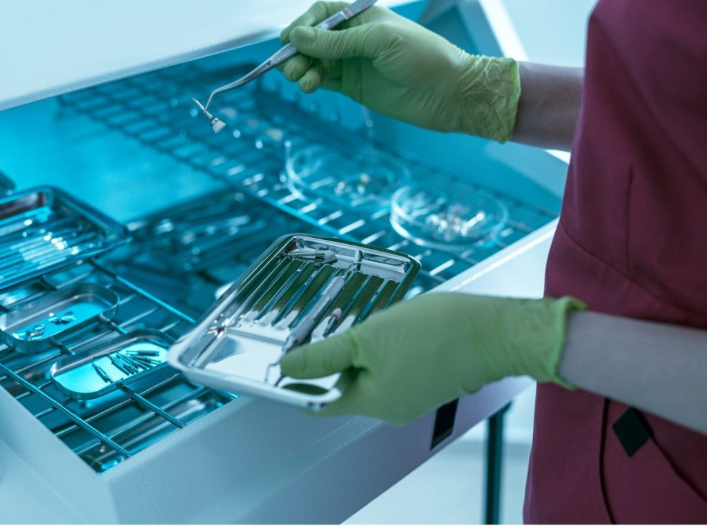 limpeza de instrumentais cirúrgicos